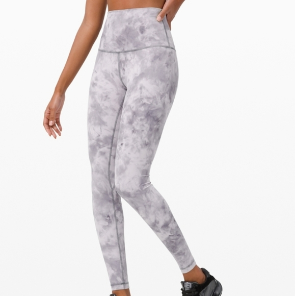 lululemon athletica Pants - Lululemon tie dye leggings